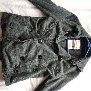 Gray mini blazer